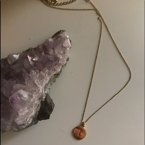 """Kate Spade """"One in a Million"""" T necklace"""